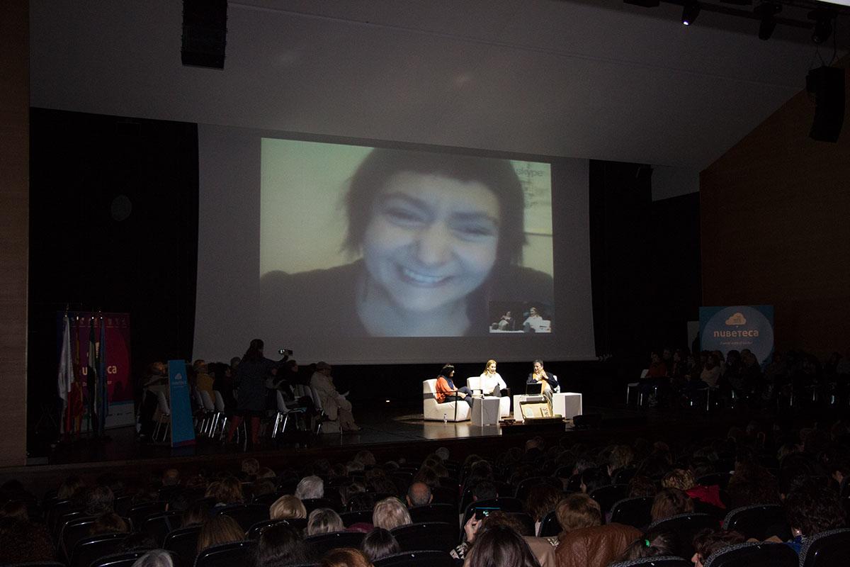 Carmen Posadas y Luis Landero