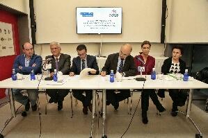 Imagen de la noticia: Firma Convenio Diputacion de Badajoz - Fundacíon  ...