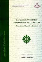 Imagen de la noticia: Catálogo - Inventario Fondo Orden de Alcántara : ...