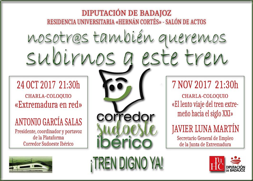 El corredor del sudoeste ibérico: una necesidad para Extremadura