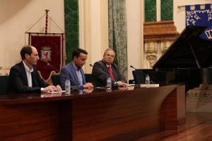 El sal�n de plenos de la Diputaci�n acogi� el acto inaugural del curso 2018-2019 de los conservatorios de m�sica