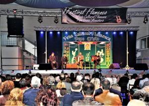 Gran �xito en el I Festival Flamenco de Monesterio