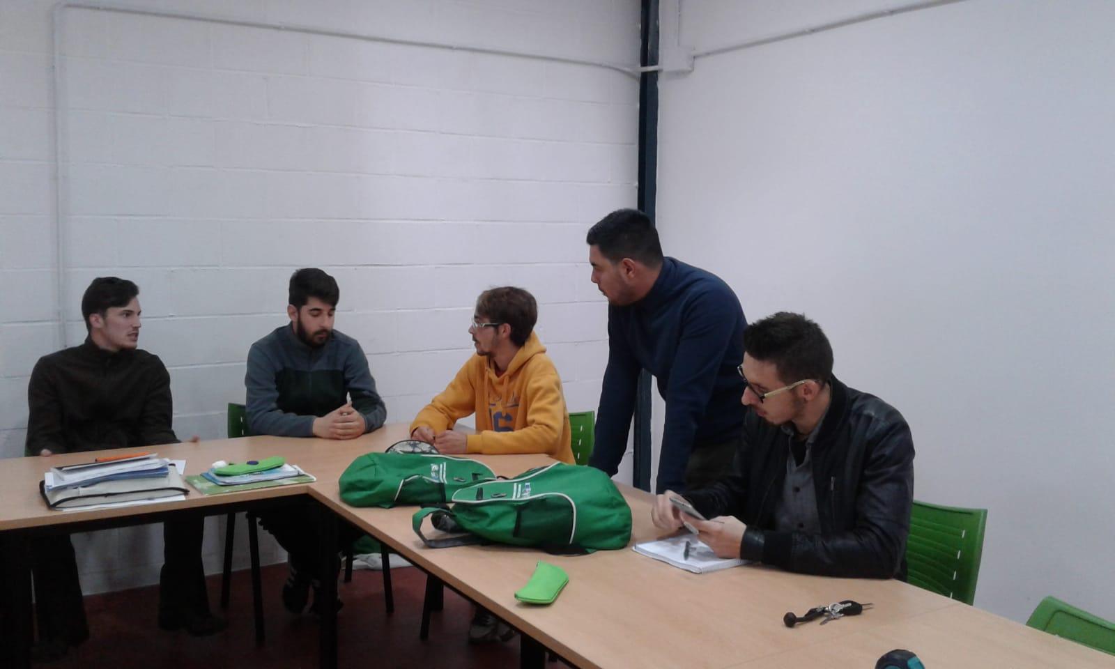 foto 1 taller 2 Equipos Colaborativos Monesterio