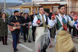 Los Danzantes de Peloche ya tienen una estatua que reconoce este baile tricentenario en honor de San Ant�n Abad