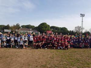 La Granadilla acogió la Convivencia internacional de Rugby