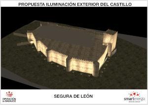 Imagen de la noticia: La Diputación de Badajoz mejorará la iluminació ...