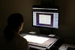El Archivo Provincial digitaliza documentaci�n del archivo municipal de Alconchel