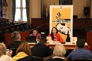 Hortensia M�ndez presenta el Premio Arturo Barea 2017