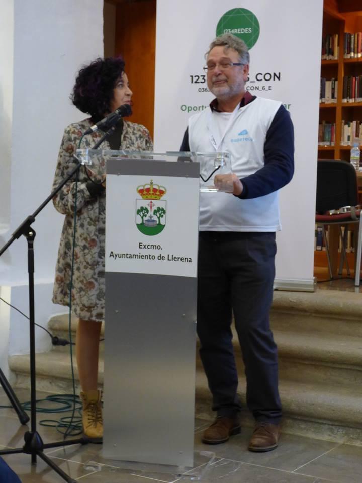 Técnica 1234Redes, Florencia Corrionero. Bibliotecario, Francisco Mateos