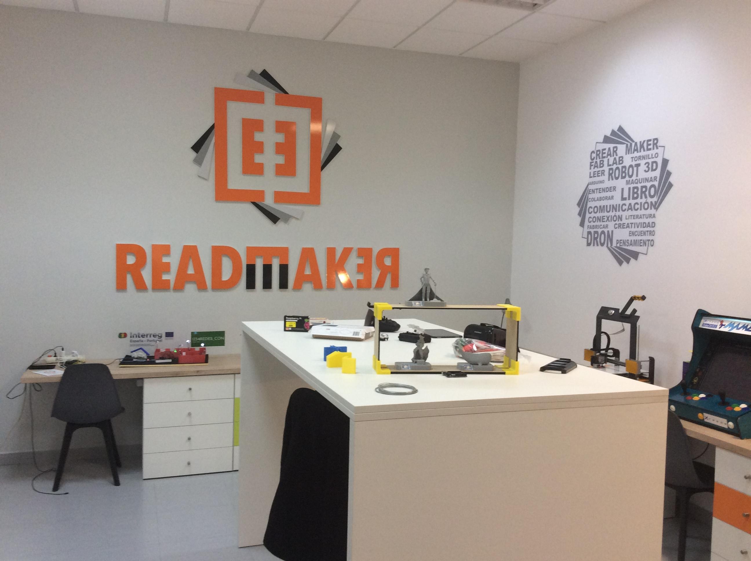 Espacio ReadMaker Valdelacalzada