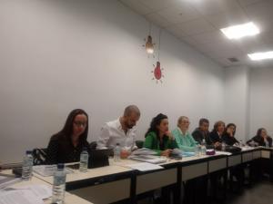 La Diputación de Badajoz presenta el Plan de Formación para empleados públicos de la provincia a la Comisión paritaria de formación local de la Comunidad autónoma de Extremadura