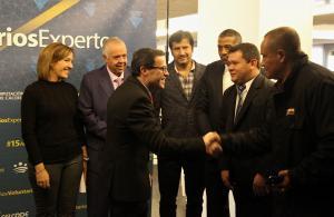 Imagen de la noticia: El presidente de la Diputación ensalza el papel d ...