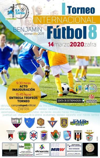 Imagen de la noticia: I Torneo Internacional de Fútbol 8 en Zafra, del  ...
