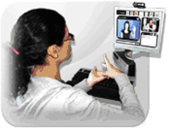La Diputación de Badajoz atiende a las personas sordas o con discapacidad auditiva con un Servicio de Videointerpretación
