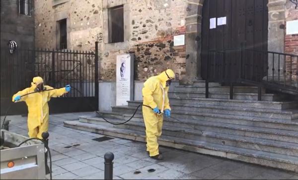 Imagen de la noticia: La Diputación culmina la desinfección preventiva ...