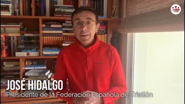 Mensaje de ánimo de José Hidalgo