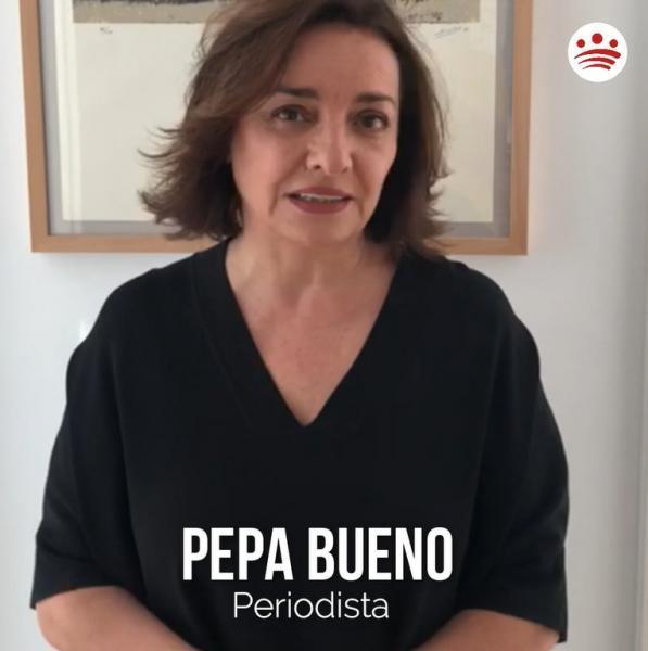 Mensaje de ánimo de Pepa Bueno