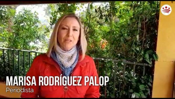 Mensaje de ánimo de Marisa Rodríguez Palop