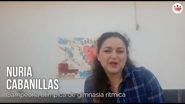 Mensaje de ánimo de Nuria Cabanillas