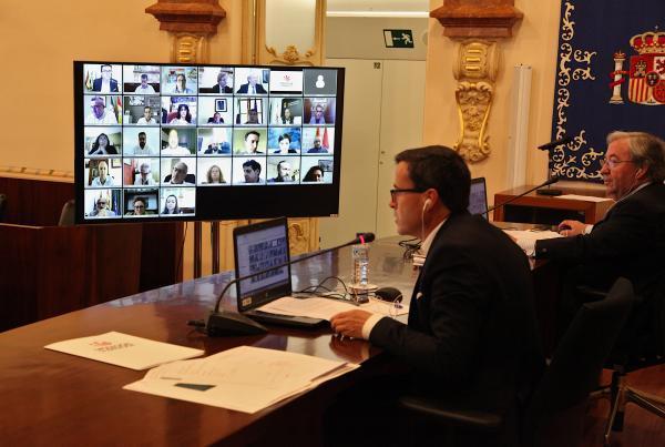 Imagen de la noticia: La Diputación de Badajoz celebra el primer pleno  ...