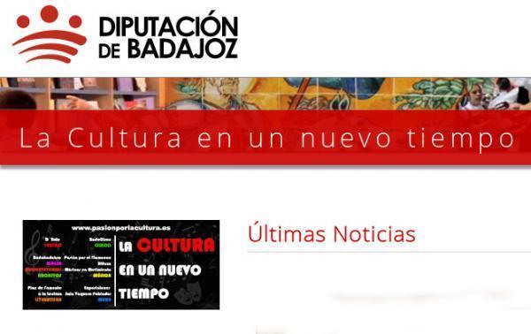 La web de la Diputación