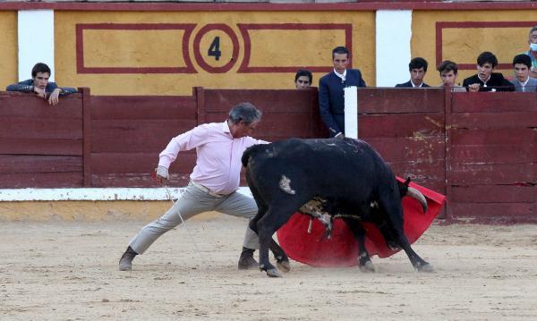 La Escuela Taurina de Badajoz rinde homenaje a Luis Reina por el 40 aniversario de su alternativa alternativa