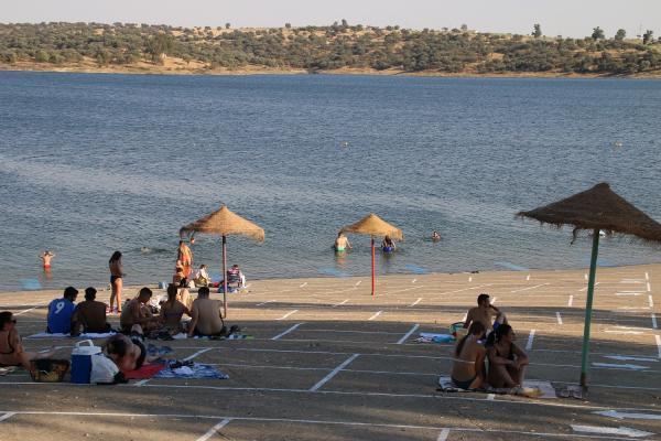 La Diputación de Badajoz implanta en las playas con bandera azul un sistema de control inteligente