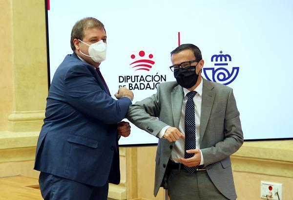 La Diputación de Badajoz fomenta el comercio electrónico entre los productores locales de la mano de Correos