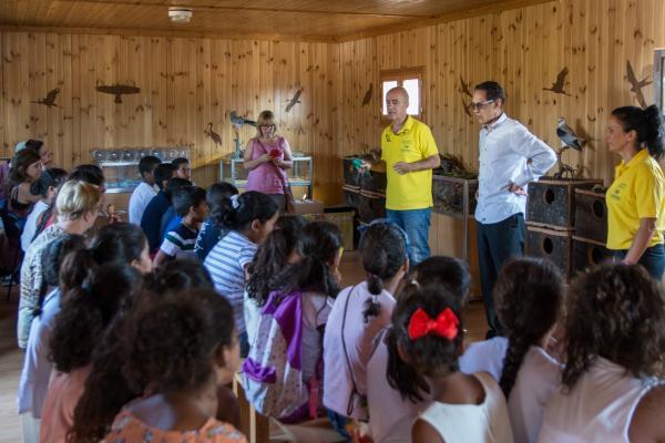El Museo Itinerante de Medioambiente de la Provincia de Badajoz (MIMABA) reanuda su actividad abriendo sus puertas al público