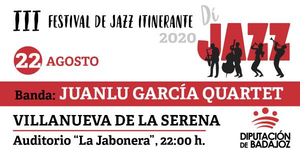 Imagen del Evento Juanlu García Quartet