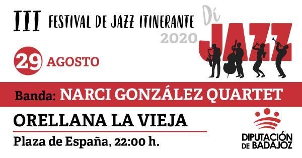 Imagen del Evento Narci González Quartet