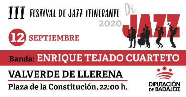 Imagen del Evento Enrique Tejado Cuarteto