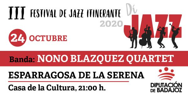 Imagen del Evento Nono Blázquez Quartet