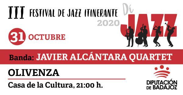 Imagen del Evento Javier Alcántara Quartet
