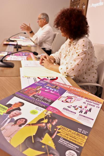 Imagen de la noticia El Área de Cultura y Deportes pone en marcha el programa 'Diputación Deportiva Digital'