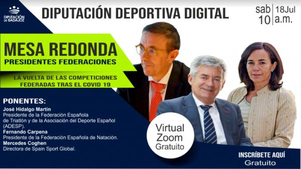 Imagen de la noticia: Mesa redonda de presidentes de federaciones deport ...