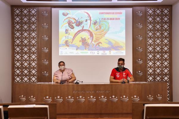 Zarza-Capilla acogerá por segunda vez consecutiva el Campeonato de España XC de Parapente 2020
