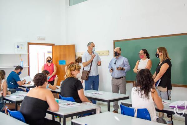 Imagen de la noticia: Inaugurada en Calamonte la acción formativa 'At ...