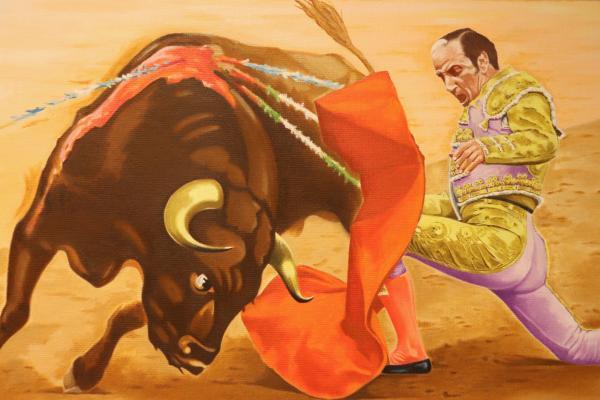 """Imagen de la noticia: """"Toros y Toreros"""", por Martín-Maestro ..."""