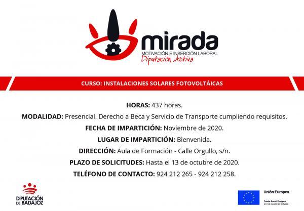 Imagen de la noticia: Diputación de Badajoz iniciará en Bienvenida un  ...