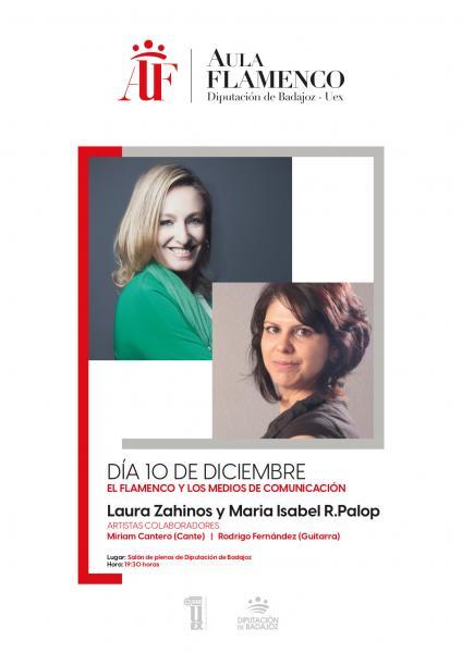 Imagen del Evento El flamenco y los medios de comunicación, por Laura Zahínos y María ISabel Rodríguez Palop