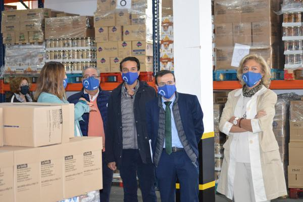 Imagen de la noticia: La Diputación incrementa su apoyo al Banco de Ali ...