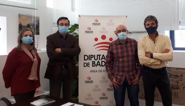 Imagen de la noticia: La Diputación y Apamex retoman su colaboración p ...
