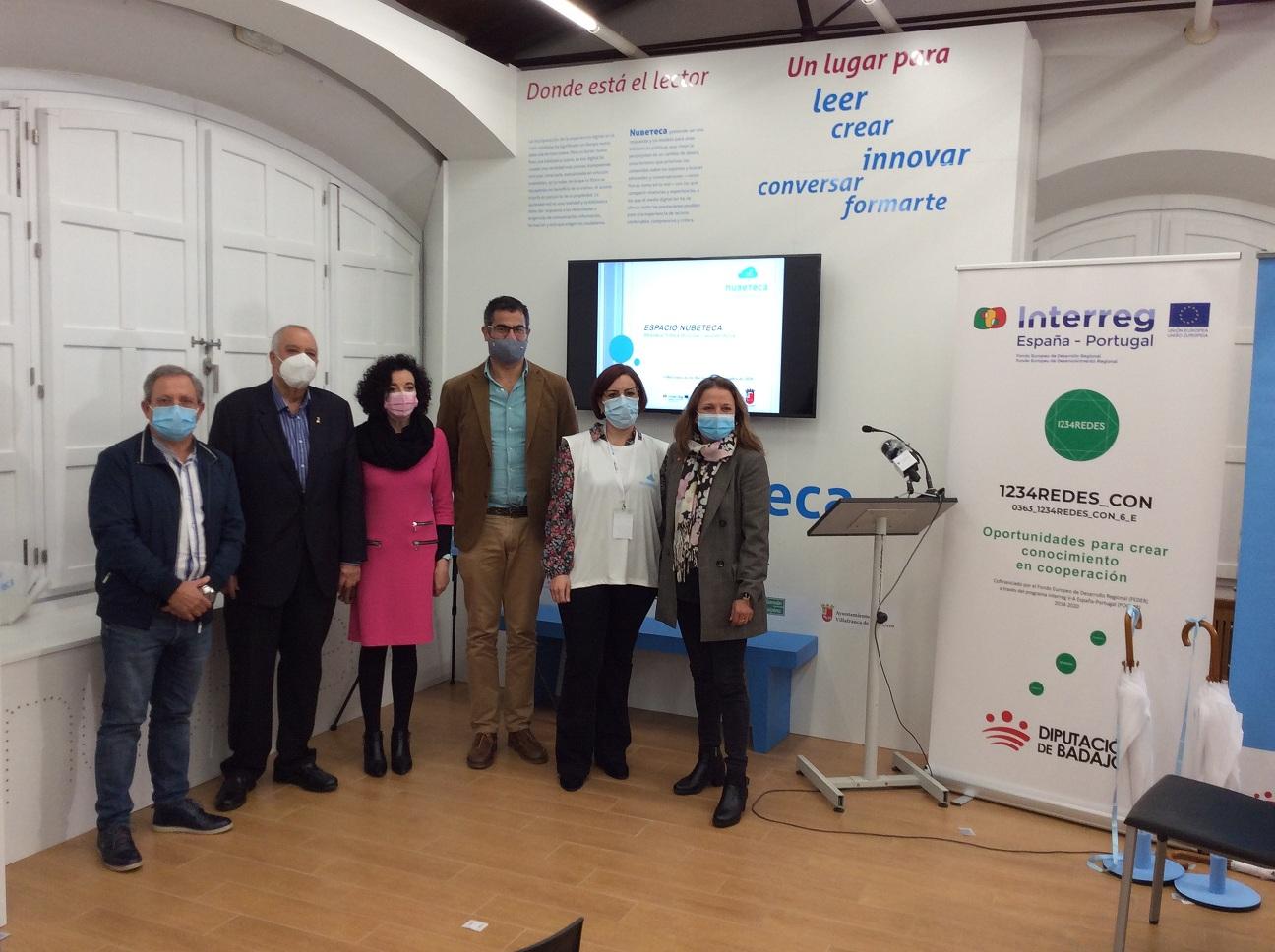 Imagen de la noticia: La biblioteca de Villafranca de los Barros inaugur ...