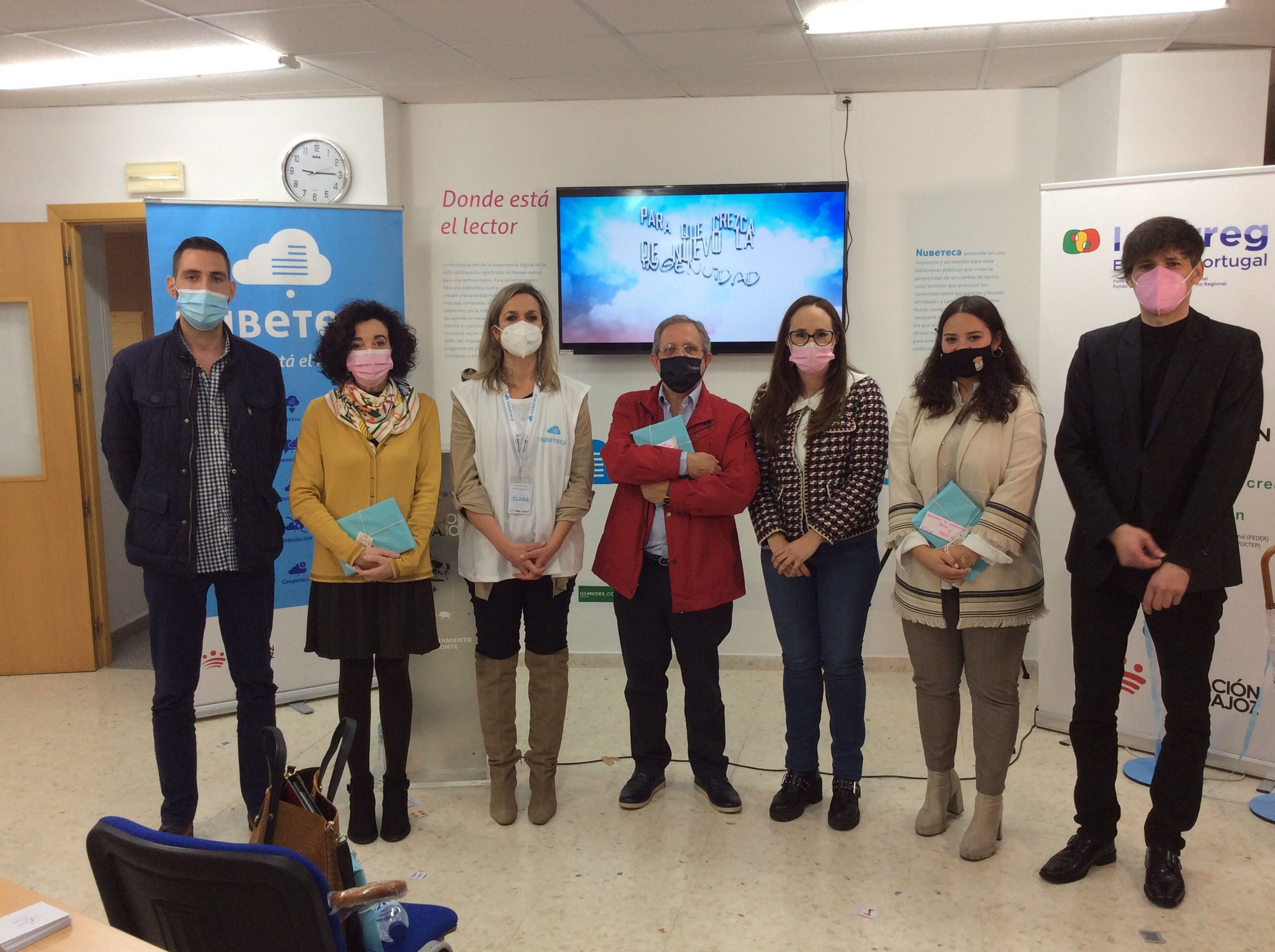 Imagen de la noticia: Se ha inaugurado el decimocuarto Espacio Nubeteca  ...