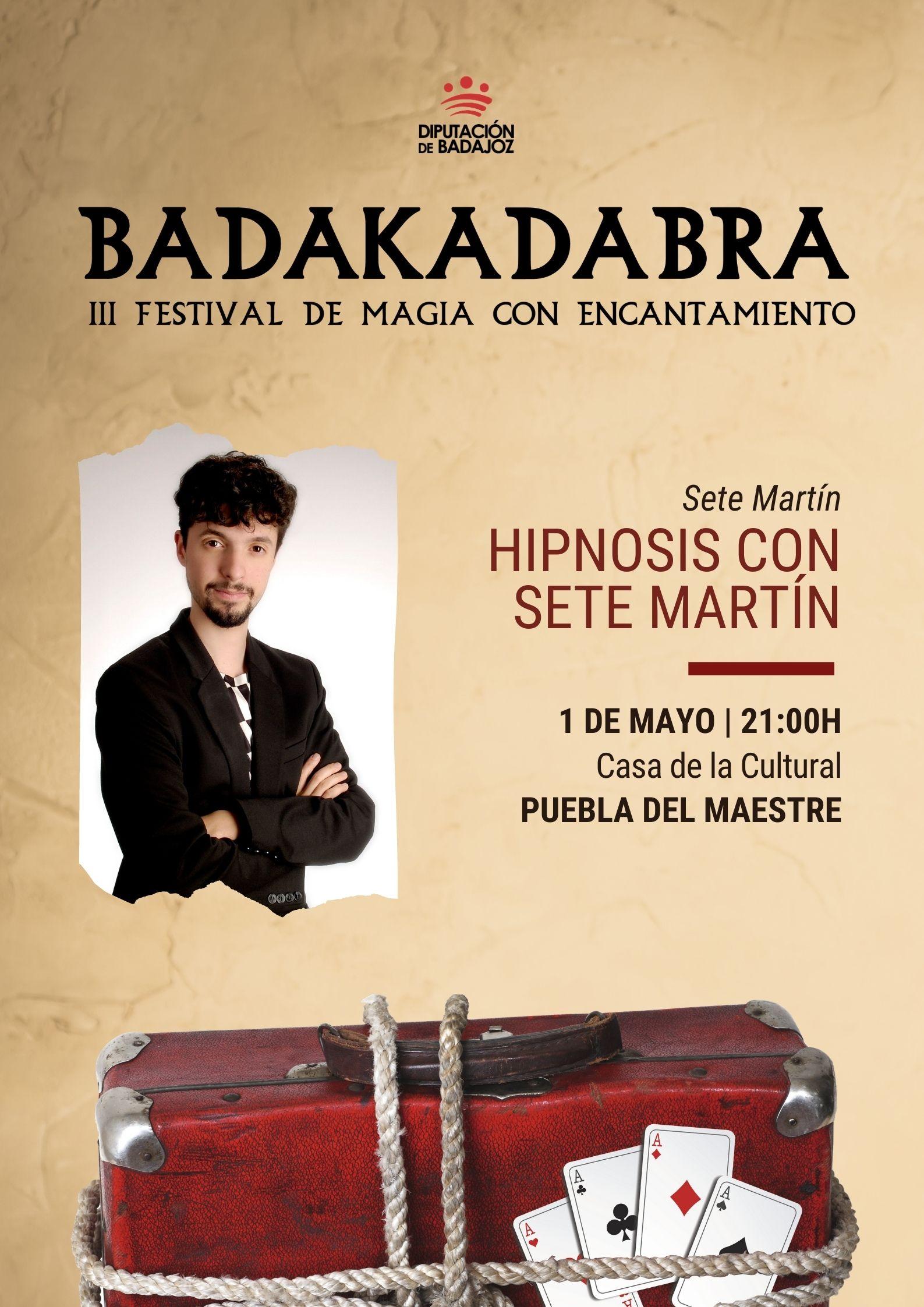Imagen del Evento Hipnosis con Sete Martín