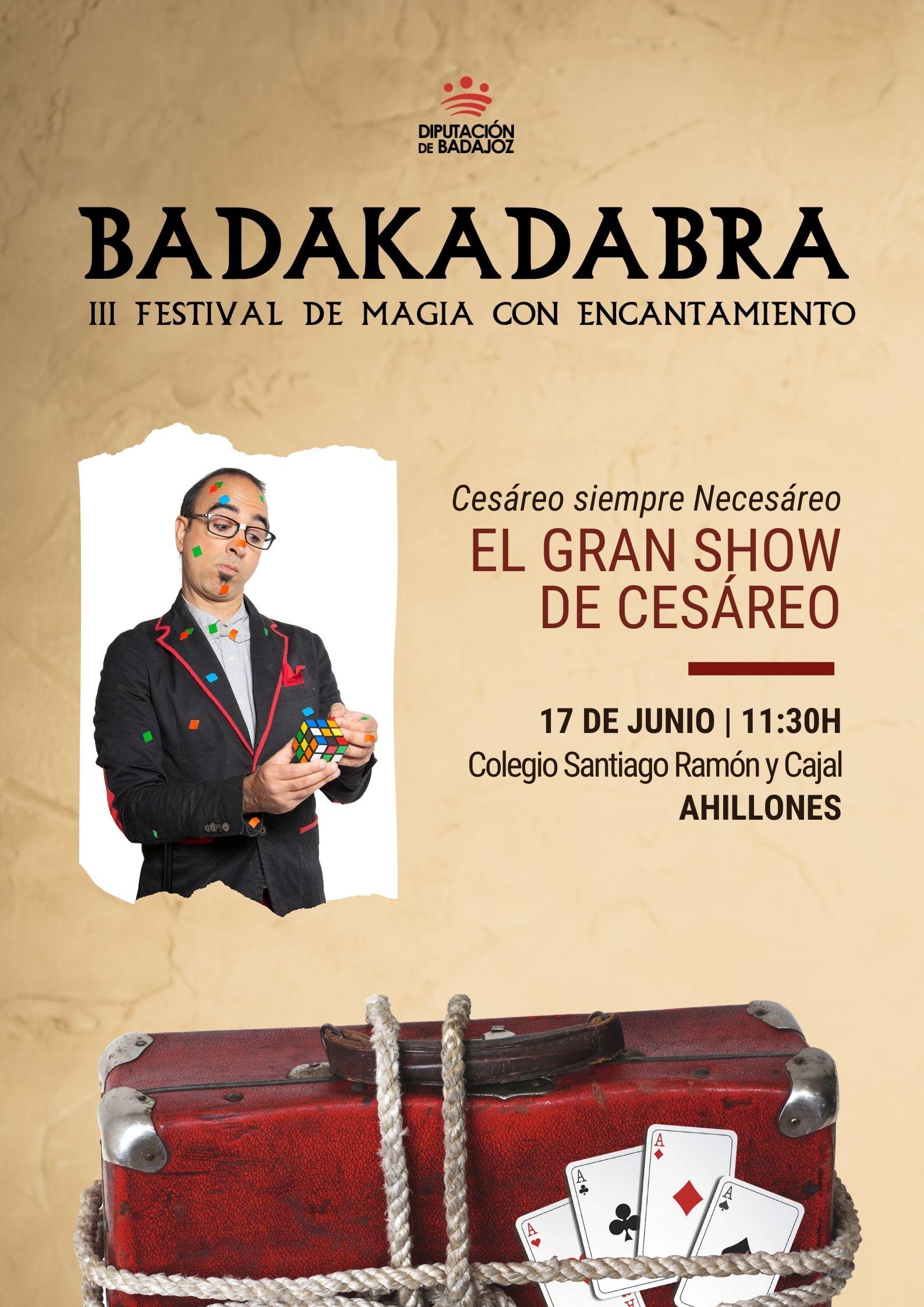 Imagen del Evento El gran show de Cesáreo