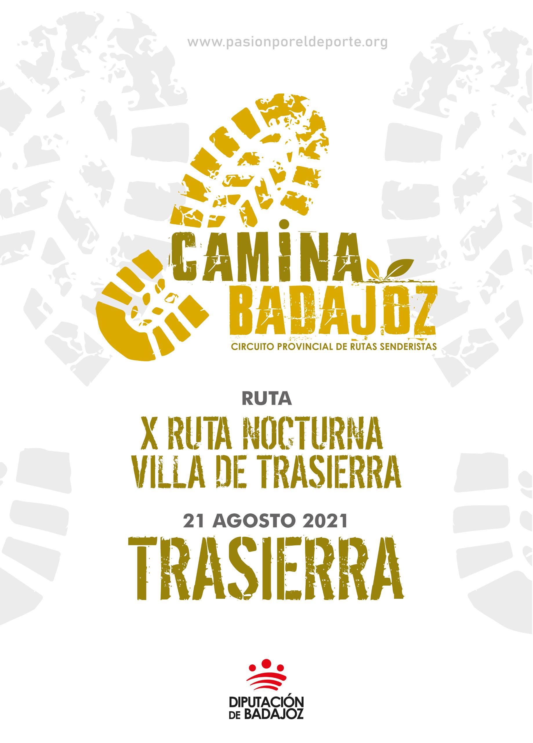 Imagen del Evento X Ruta Nocturna Villa de Trasierra