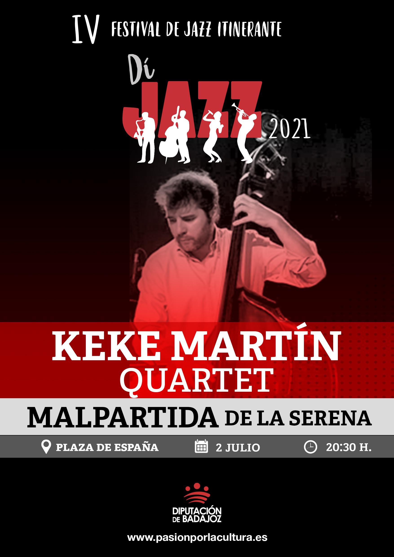 Imagen del Evento Keke Martín Quartet