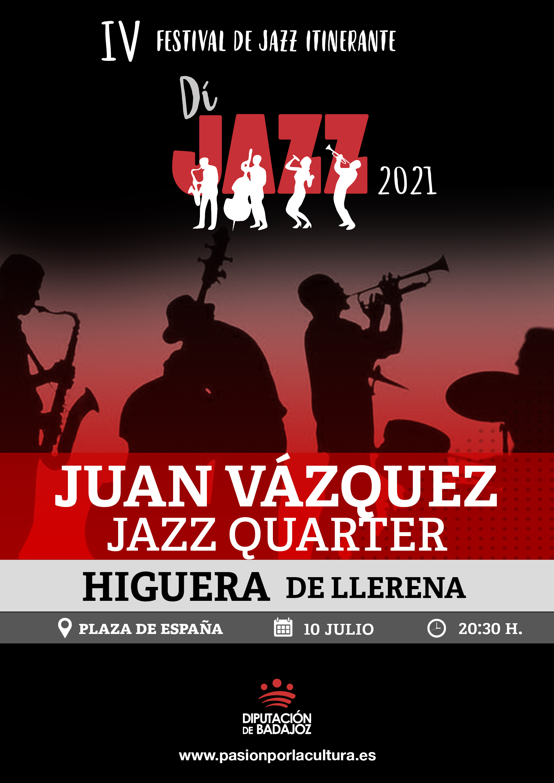 Imagen del Evento Juan Vázquez Jazz Quartet